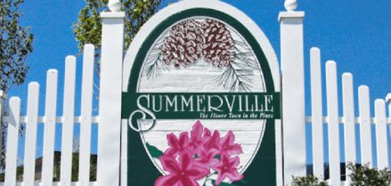 City of Summerville sign