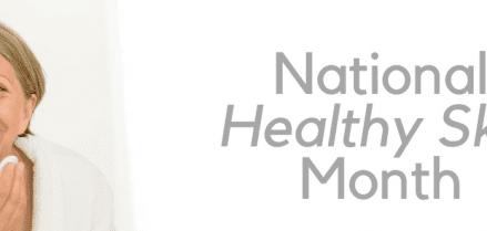 National healthy skin moth banner image