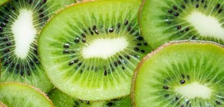 Sliced Kiwi's
